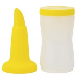 Cocktailfles geel