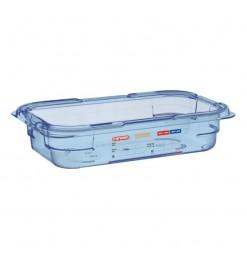 Araven ABS blauwe GN1/4 voedseldoos 65mm
