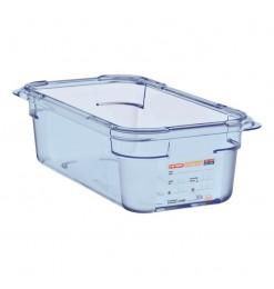 Araven ABS blauwe GN1/4 voedseldoos 100mm