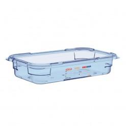 Araven ABS blauwe GN1/3 voedseldoos 65mm