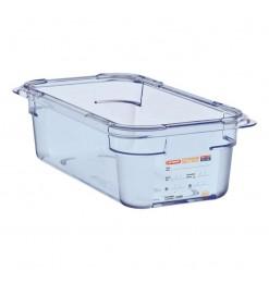 Araven ABS blauwe GN1/3 voedseldoos 100mm