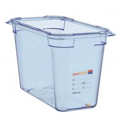 Araven ABS blauwe GN1/3 voedseldoos 200mm