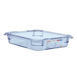 Araven ABS blauwe GN1/2 voedseldoos 65mm