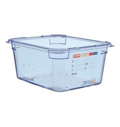 Araven ABS blauwe GN1/2 voedseldoos 150mm
