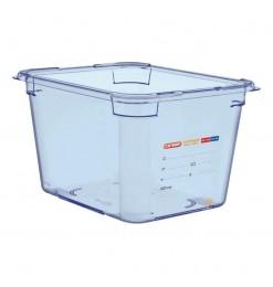Araven ABS blauwe GN1/2 voedseldoos 200mm