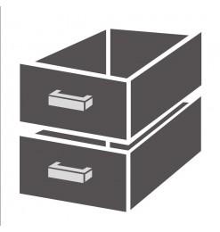 LADENBLOK 1/2 MONOBLOCK SOFT CLOSING