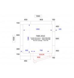 KOEL/VRIESCEL 2200 HOOG - 120 MM