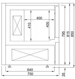 BLASTCHILLER 5x 1/1GN