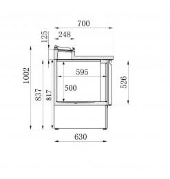 SALADETTE 2 DEUREN 5x1/6GN PAN