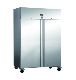 Gastro-Inox RVS koeling 1200 liter, geforceerd gekoeld