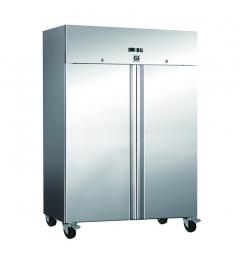 Gastro-Inox RVS vriezer 1200 liter, geforceerd gekoeld