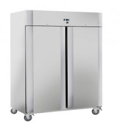 Gastro-Inox RVS 1400 liter koelkast, geforceerd gekoeld