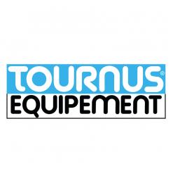 Tournus hoek/verlengrek met 4 schappen 1251(b)x400(d)x1750(h)mm