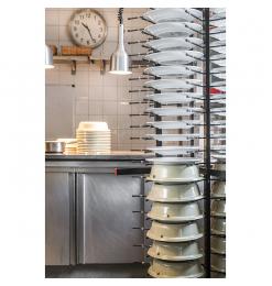 Jackstack verrijdbaar bordenrek geschikt voor 88 borden