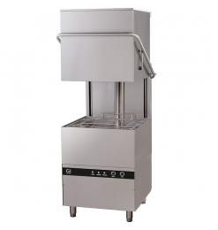 Gastro-Inox elektronische doorschuifvaatwasser, 50x50cm, 400V