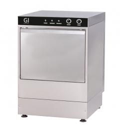Gastro-Inox elektronische glazenspoelmachine, 35x35cm, 230V