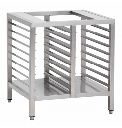 Gastro-Inox RVS onderstel voor ovens, 1000mm, GN onderruimte