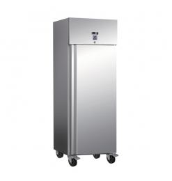 Gastro-Inox RVS 600 liter vriezer, statisch gekoeld met ventilator