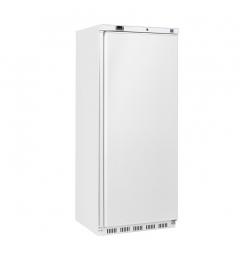 Gastro-Inox wit ABS 600 liter koelkast, statisch gekoeld met ventilator
