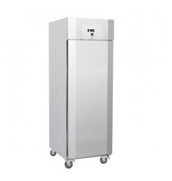 Gastro-Inox RVS 700 liter koelkast, geforceerd gekoeld