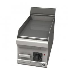 Gastro-Inox 600 Trendline elektrische bakplaat met gladde plaat, 230V