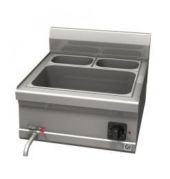 Gastro-Inox 600 Trendline elektrische bain-marie, GN 1/2 + GN 1/4