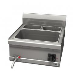 Gastro-Inox 600 Trendline elektrische bain-marie 1x GN 1/1 + 2x GN 1/4
