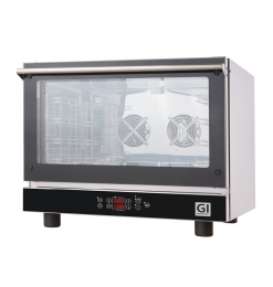 Gastro-Inox heteluchtoven 4x GN 1/1 of 600x400mm, 400V