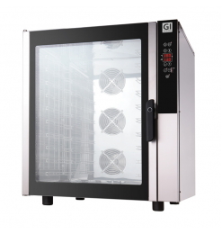 Gastro-Inox heteluchtoven 10x GN 1/1 of 600x400mm, 400V