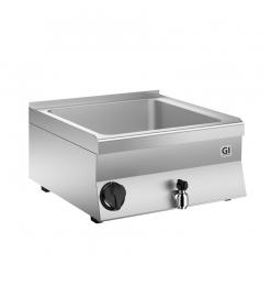 Gastro-Inox 650 HP elektrische bain-marie 80cm, GN 2/1