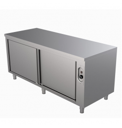 Gastro-Inox warmhoudkast 1600(l)x700(d)x850(h)mm