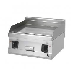 Gastro-Inox 600 Trendline elektrische bakplaat met glad geslepen plaat, 230V