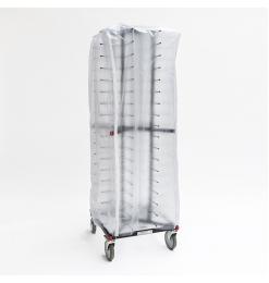 Jackstack plastic cover voor de verrijdbare bordenrekken, JS072, JS088 en JS104